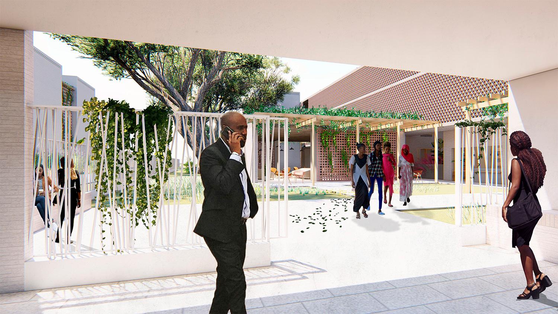 Campus Social Regional Thies, Senegal